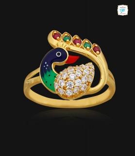 Finest Navil Gold Ring - 0911