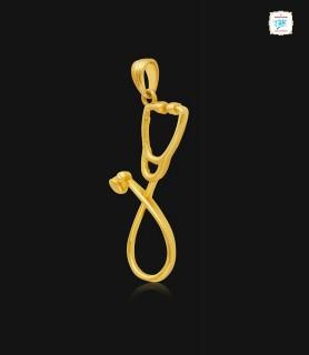 Desire Stetho Gold Pendant...