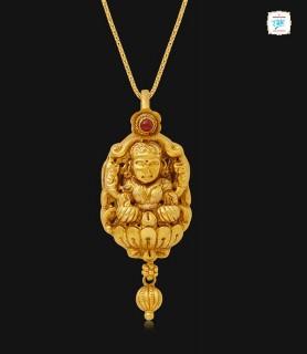 Divine Goddess Lakshmi Gold...