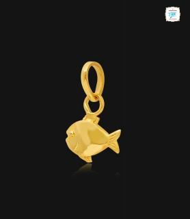 Lucky Gold Fish Pendant - 0981