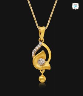Fancy Rosebud Gold Pendant...