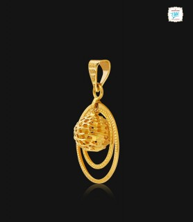 Fashionable Ovate Gold...