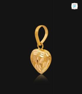 Hearty Morpho Gold Pendant...