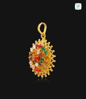 Chakra Gemstone Gold...