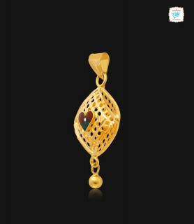 Heart Mould Rhombus Gold...