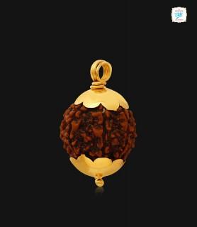 Rudhraksha Gold Pendant - 1061