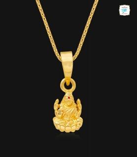 Lord Sri Laxmi Gold Pendant...