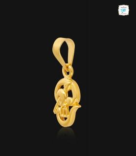 Holy Tamil Om Gold Pendant...