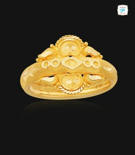 Delicate Epic Gold Ring - 1099
