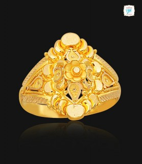 Traditional Floral Gold...