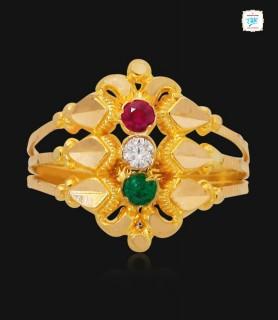 Trinities Gold Ring - 1115