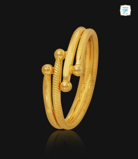 Fashionable Gold Ring - 1119
