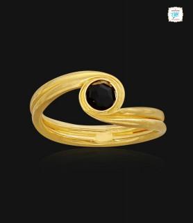 Simple Black Stone Gold...
