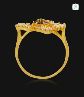 Scintillating Floret Gold...