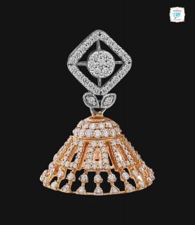 Elegance Jhumka Earring - 0066