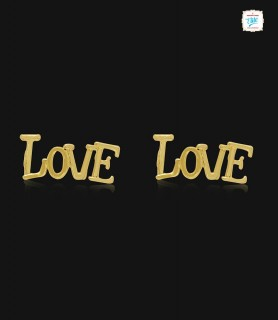 Spread Love Kids Gold Stud...