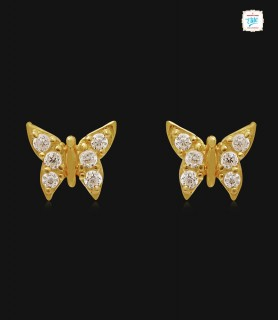 Pretty Butterfly Kids Gold...