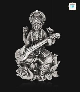 Goddess Saraswathi Silver...