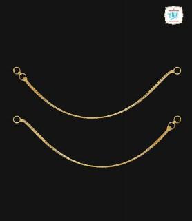 Single Chain Gold Mattel  -...