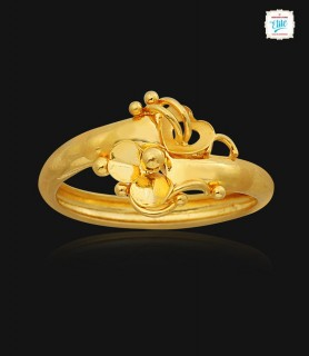 Bejeweled Gold Ring - 1741
