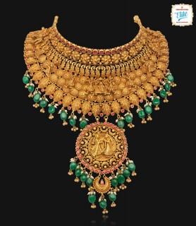 Royal Bride Gold Choker-2075