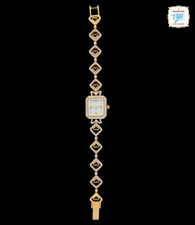 Quad Glam Gold Watch - 2617