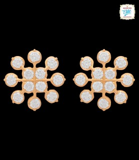 Quad Chakra  Diamond Studs...