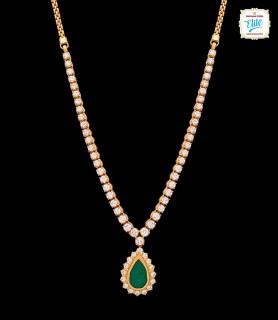 Captivating Emerald Drop...