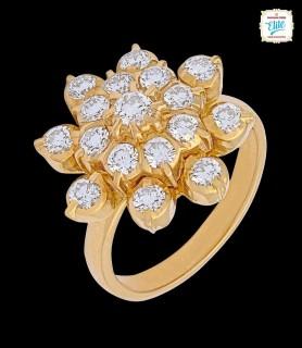 Sunrise Diamond Ring - 3009