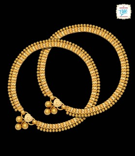 Proxy Textured Gold Anklet...