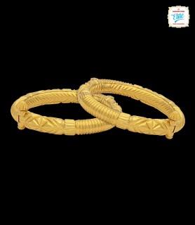 Bold Graves Gold Anklet - 3059