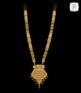 Opulent Gold Mangalsutra -...