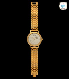 Aesthtic Appeal Gold Watch...