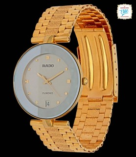 Earl Grey Face Gold Watch -...