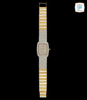 Blinding Quad Diamond Watch...
