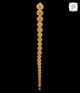 Sheeny Suryamukhi Gold Jada...