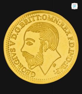 2 Gram Gold King 916 Coin