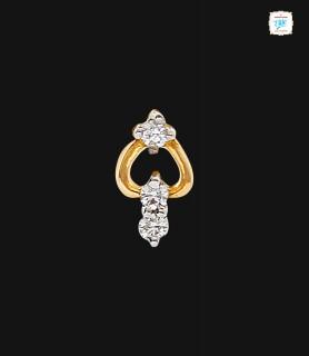 Pear Trillium Nose Pin - 0433