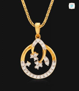 Elegant Floral Diamond...