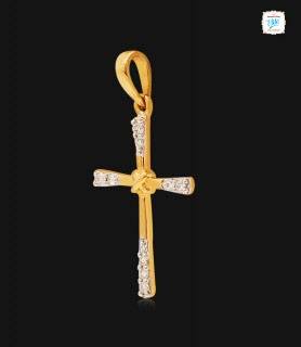 Cruz Cross Motif Diamond...