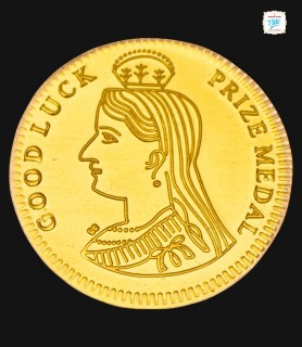 1 GRM Gold Queen 916 Coin