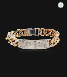 Curb Chain Cheetah Diamond...